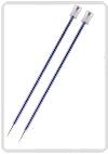 KnitPro Zing breinaald 4,50 mm met knop 40cm