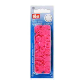 Color snaps -  Prym rond 12,4mm fuchsia