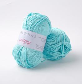 Phildar Coton 2 Cyan