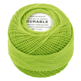 Durable borduur en haakkatoen  1008 Lime