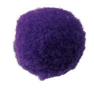 Pompom 30mm Paars