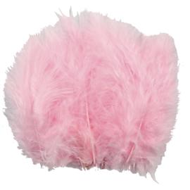 Veertjes 5-12cm ±15 stuks - Roze