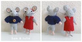 En nog een paartje muizen, nu gemaakt door Danielle