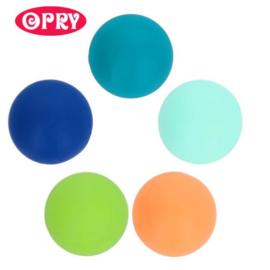 Opry Siliconen kralen 5 kralen van 15mm AST 3  - 5 kleuren