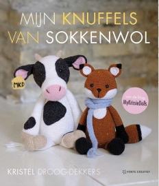 Mijn knuffels van sokkenwol van Kristel Droog