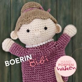 Haakpakket Boerin Bibi uit boek Handpoppen haken Cute Dutch
