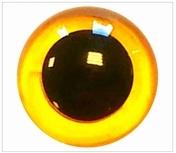 Veiligheidsoogjes Geel Transparant 6 mm