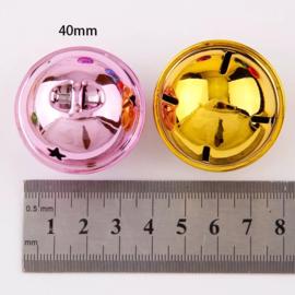 Bel 40mm Gekleurd met ster