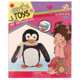 Haakpakket voor kinderen Pinguin