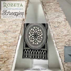 Scheepjes CAL2019 Rozeta Colour Crafter - Midnight pre-order