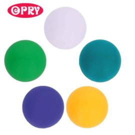 Opry Siliconen kralen 5 kralen van 20mm AST 4 - 5 kleuren