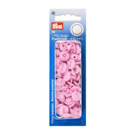 Kamsnaps Prym rond 12,4mm roze