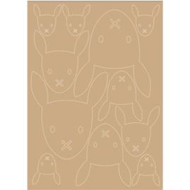 Lilian MDF 3mm konijntjes