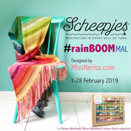 Scheepjes Stone Washed - River Washed Colour Pack - RainBOOM MAL