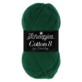 Cotton 8 Scheepjes 713 Donkergroen