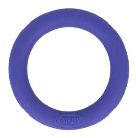 Opry siliconen bijtring  55mm kleur 183 Paarsblauw
