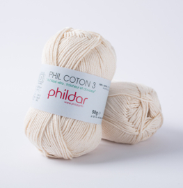 Phil coton 3 0032 Ecru