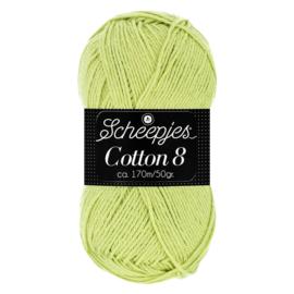 Cotton 8 Scheepjes 642 Lindegroen