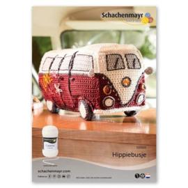 Haakpakket gehaakt Hippiebusje met gratis patroon!