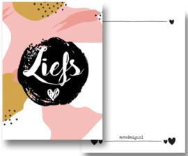Kaart Liefs roze