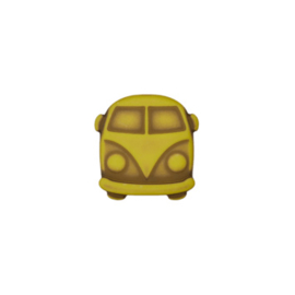 Knoop VW busje GeelGroen