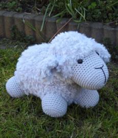 Funny Furry Sheep Soft Grijs