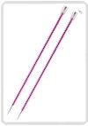 KnitPro Zing breinaald 5,00 mm met knop 40cm