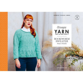 Yarn, the after party Patroon Bookworm Sweater nr 123