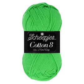 Cotton 8 Scheepjes 517 Lime