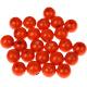 """Houten kraal 18 mm """"babyproof"""" Oranje"""