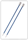 KnitPro Zing breinaald 4,00 mm met knop 40cm