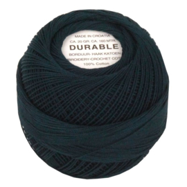 Durable borduur en haakkatoen  Donkerblauw 1052