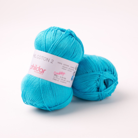 Phildar Coton 2 Turquoise 0041