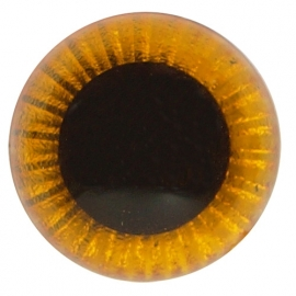 Uilenogen 12 mm Oranjegeel