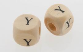 Letterkraal hout letter Y