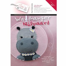 Patroonboekje Wandhanger Nijlpaard