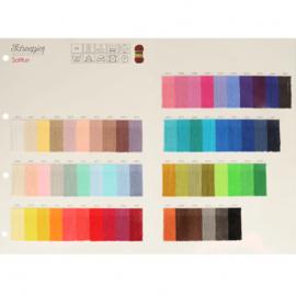 Staalkaart Scheepjes Softfun 63 kleuren