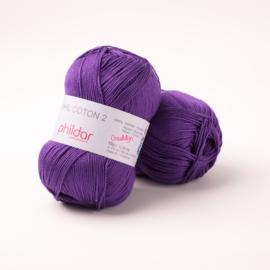 Phildar Coton 2 Violet 0038
