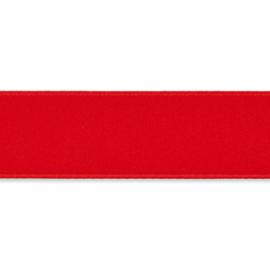 Dubbelzijdig Satijnlint  Rood