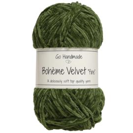 Go Handmade Bohème Velvet Fine - Lime- 17617