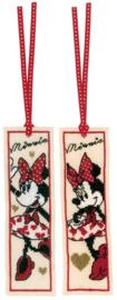 Bladwijzer Disney it's all about Minnie set van 2