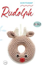 Garen en fourniturenpakket Kerstdonut Rudolph