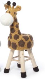 Garenpakket Giraffe dierenkruk haken