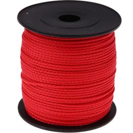 Nylon/polyester koord Rood