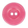 Bottoni Italiani  plastic knoopje 12,5 mm roze
