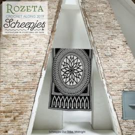 Scheepjes Rozeta CAL2019 Luxury Kit Our Tribe - Midnight pre-order