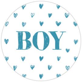 Kadosticker Boy Blauw 10 st