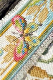Bladwijzer Decoratieve vlinder aida set van 2
