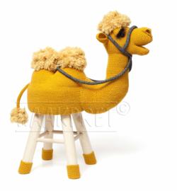 Garenpakket Goldie kameel dierenkruk deel 3 haken