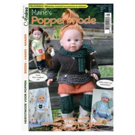 Marie's Poppenmode nr 25 Herfstmode voor poppen